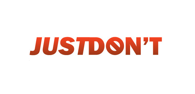 Just Don't Logo
