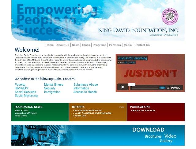 King David Foundation Website