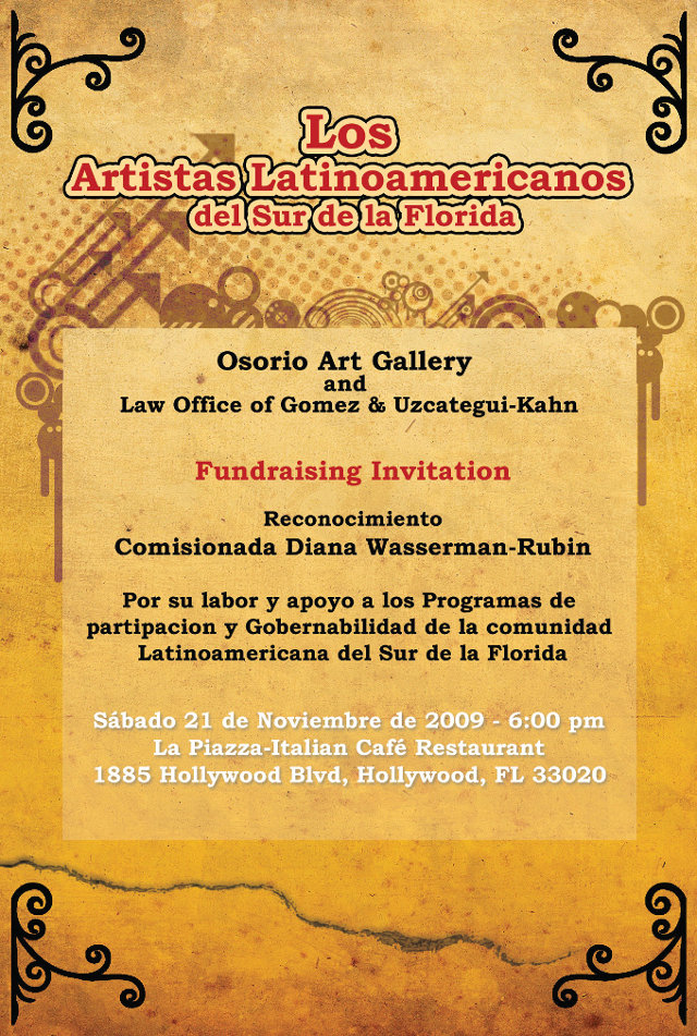 Artistas Latinoamericanos Poster
