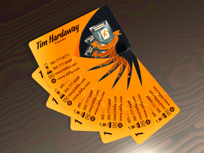 Tim Hardaway Business Card
