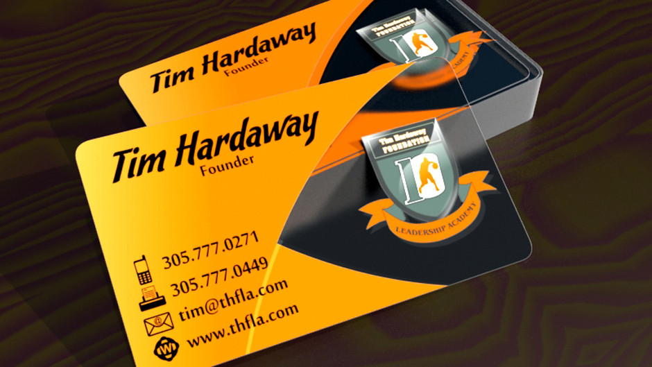 Tim Hardaway Business Card