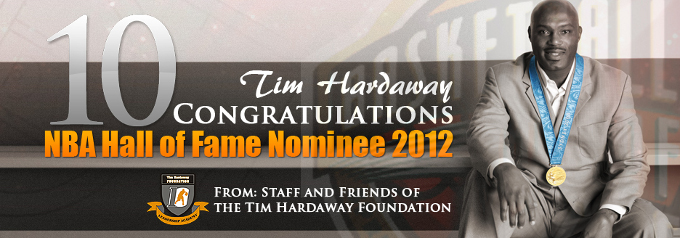 Tim Hardaway Hall of Fame Nomination Banners
