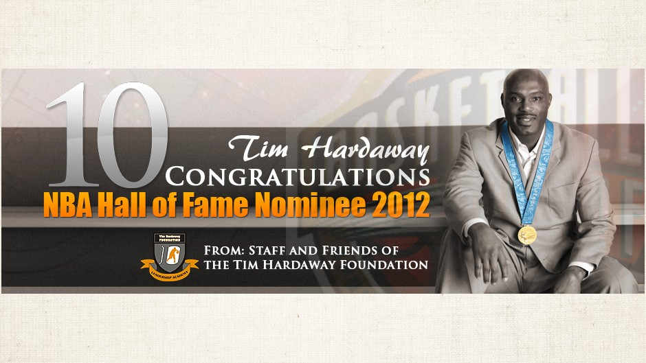 Tim Hardaway Hall of Fame Nominee