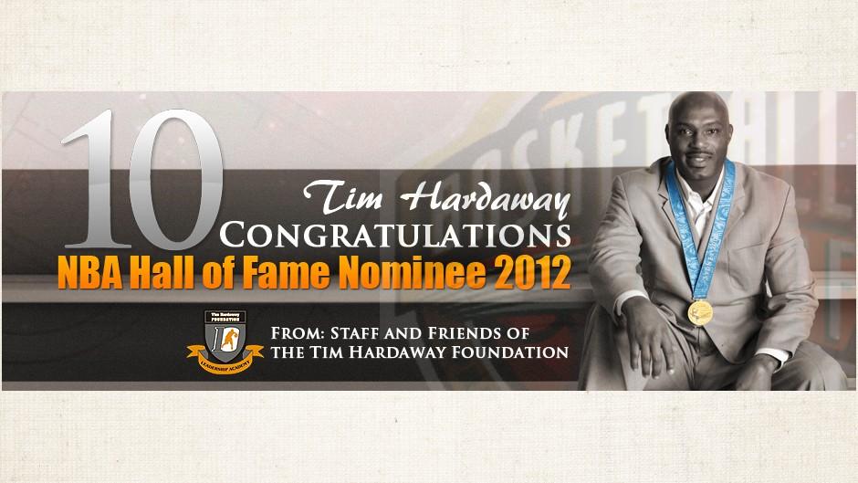 Tim Hardaway Hall of Fame Nominee